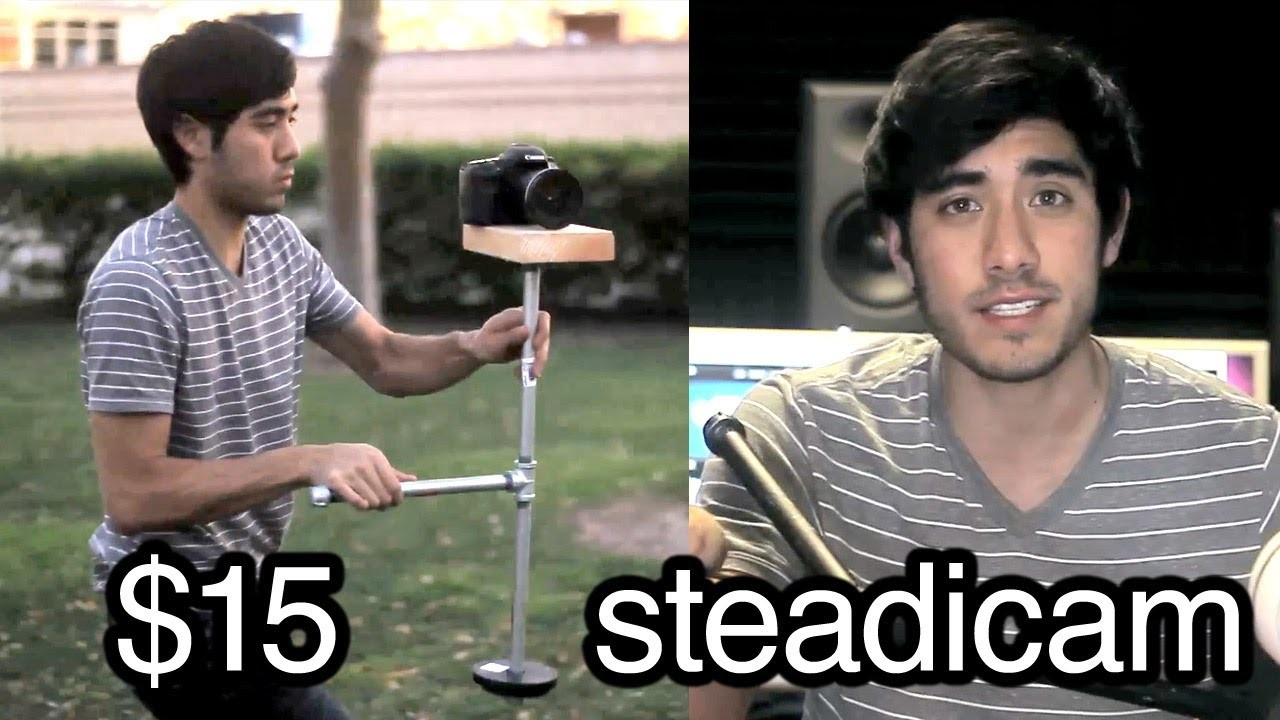 Awesome Directors Project : $15 DIY steadicam in 15 minutes!
