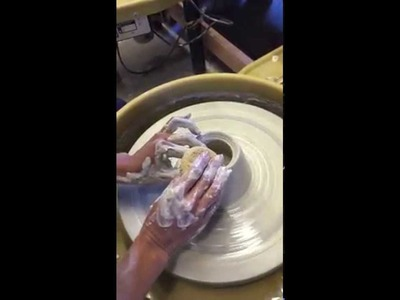 Beginner Pottery: Basic Wheel Throwing Hand Techniques to Make a Cone