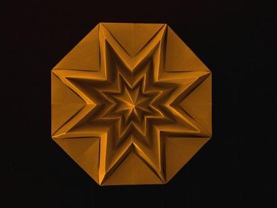 Christmas Origami Instructions: Star Infinity (Francesco Guarnieri)