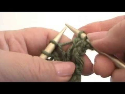 Continental Knitting Lesson #14  - MAKE ONE (M1)