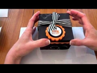 Cool paper Crafts: How to Make a Cookie Box