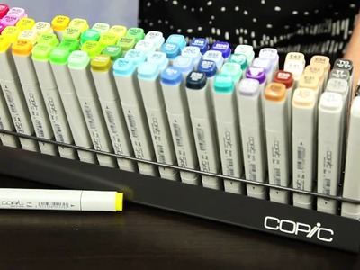 Copic Storage and Organization