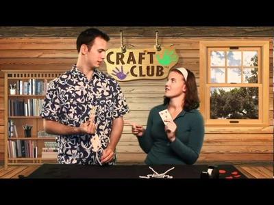 Craft Club's Bendy Card Doll Video