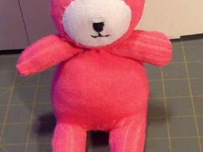 Create a Cute Sock Teddy Bear - Crafts - Guidecentral