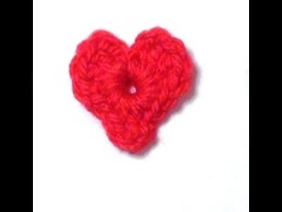 Crochet Heart - Crochet Heart Tutorial - Crochet Hearts