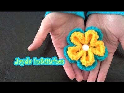 Crochet On The Run! - Flower Pattern Tutorial
