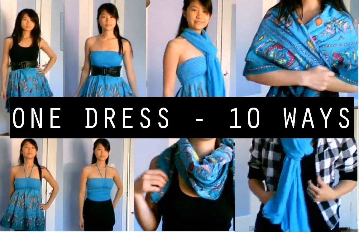 DIY: 10 Creative Ways to Wear a Dress