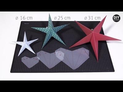 DIY by Panduro: Paper Star Stencil
