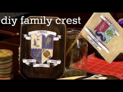 DIY Family Crest Crafts for Father's Day