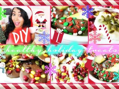 DIY Healthy Holiday Treats | No Bake & Easy