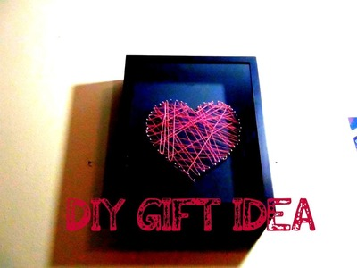 DIY♥Heart Strings Wall Art(Mothers Day Gift Idea)
