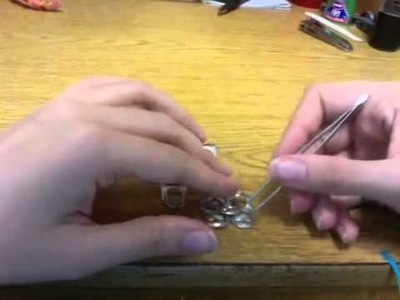 DIY - How to make Soda Can Tabs Earrings