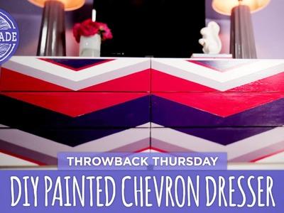 DIY Painted Chevron Dresser - Throwback Thursday - HGTV Handmade