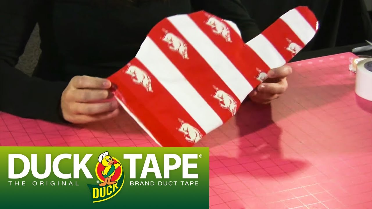 Duck Tape Crafts: How to Make a Number One Fan Finger