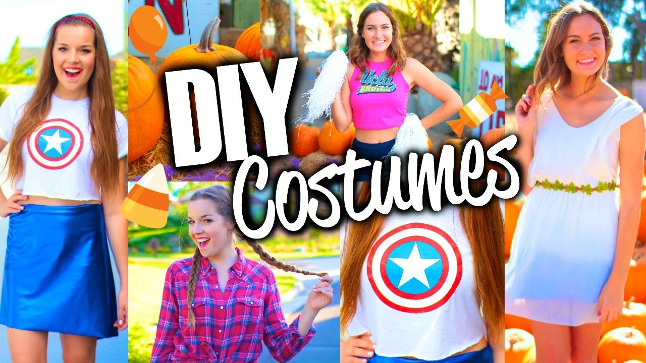 Easy & Cute DIY Halloween Costumes for Teens!
