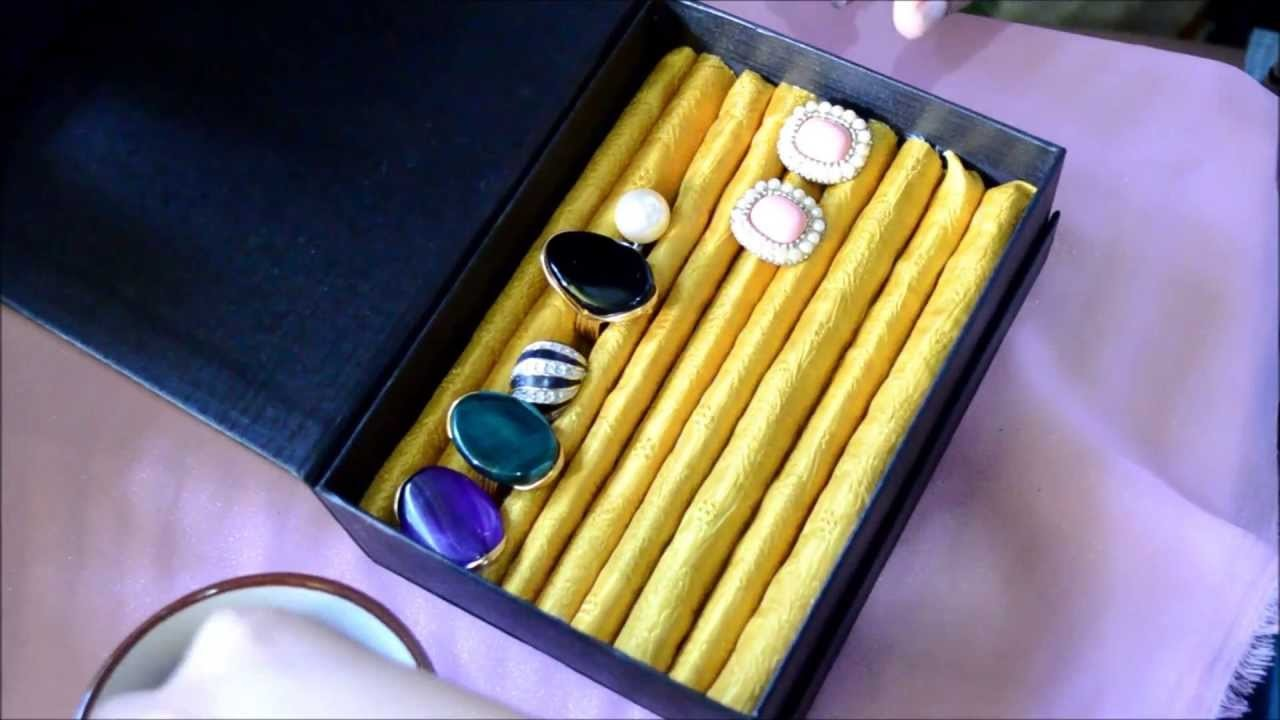 EASY DIY: JEWELRY BOX (STUD EARRINGS AND RING HOLDER)