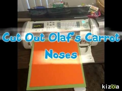 Frozen Party Craft  - How to Make A Pin the Nose on Olaf Game