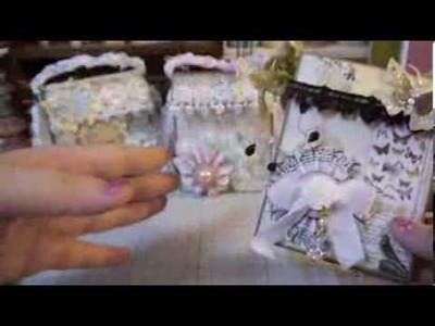 Handmade Purse Gift Boxes & Tutorial Part 1