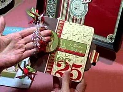 Holiday Christmas Mini Scrapbook Album
