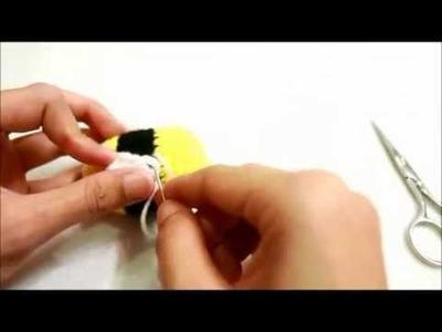 How to crochet Bee amigurumi