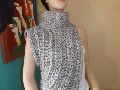 How to Crochet The Katniss Inspired Cowl or Wrap