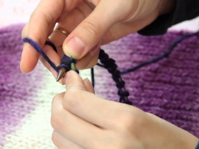 How to Knit a Basic Hat : Fiber Arts