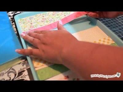 How to Make a Dollar Store Cookie Sheet Magnet Board