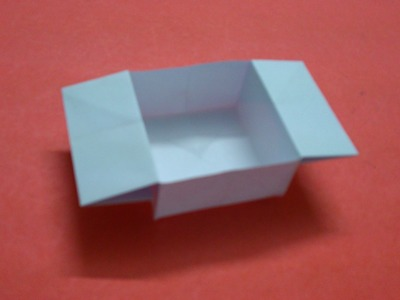 How to Make a Square Paper Box With Flaps