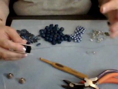 How to Make a Wire Crochet Necklace Part 2