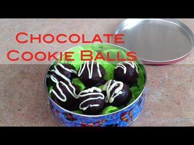 How to make chocolate NO BAKE cookie balls   Nik Scott