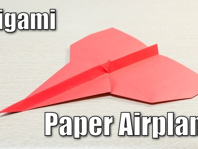 How to make paper airplane - Urano rocket form Origami plane