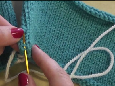 How to Seam: Mattress Stitch