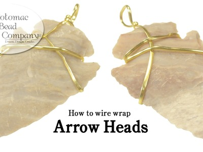 How to Wire Wrap Arrow Heads
