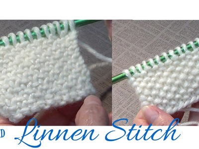 Knitted Linen Stitch