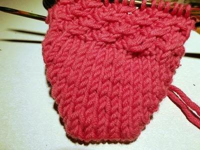 Knitting Socks with eliZZZa #10 * eliZZZa's BubuSocks #01 * Short Row Toe and Short Row Heel