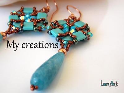 Le mie creazioni:tessitura perline-soutache-uncinetto My creations:weaving beads-soutache-crochet