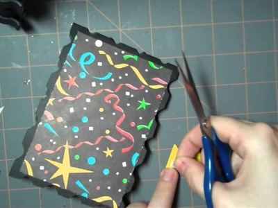 Let's Get Crafty Episode #  52 Happy New Year Card (2011)