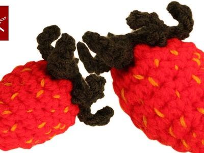 Make a Festival of Crochet Strawberries  Crochet Geek