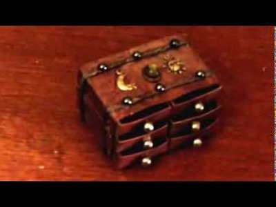 Matchbox Steamer Trunk Drawers (The Craft Hole)