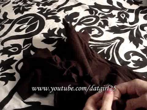 Megan's Craft Time: how to take a drab t shirt and make it fab! Reconstructing a t-shirt!