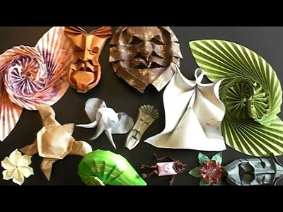 Origami Meeting. Masks. New Design. Old Design. New Tutorial