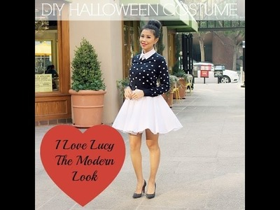 Quick DIY Halloween Costume Idea {I Love Lucy Ricardo}