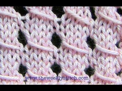 Slip Stitch Lace