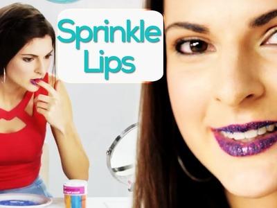 Sprinkle Lips Tutorial with Sarah! #17NailedIt