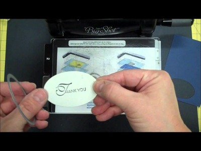 Stampin' Up! Two Minute Quick Tip:  Creating Framelit Frames and Mats