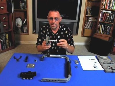 *UPDATED* How to build a DIY $100 Merlin-type Steadicam camera stabilizer that really works.