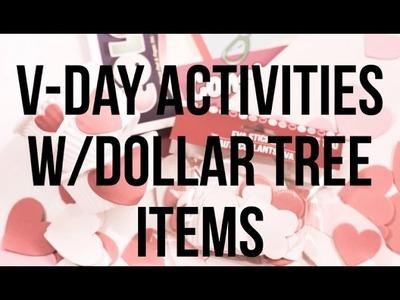 Valentine's Crafts with Dollar Tree Foam Stickers - DIY