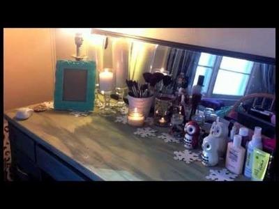 Winter Desk Decor & Easy Dollar Tree DIY!