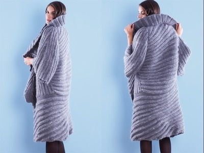 #10 Welted Coat, Vogue Knitting Fall 2010