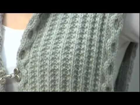 #29 Hooded Vest, Vogue Knitting Fall 2009